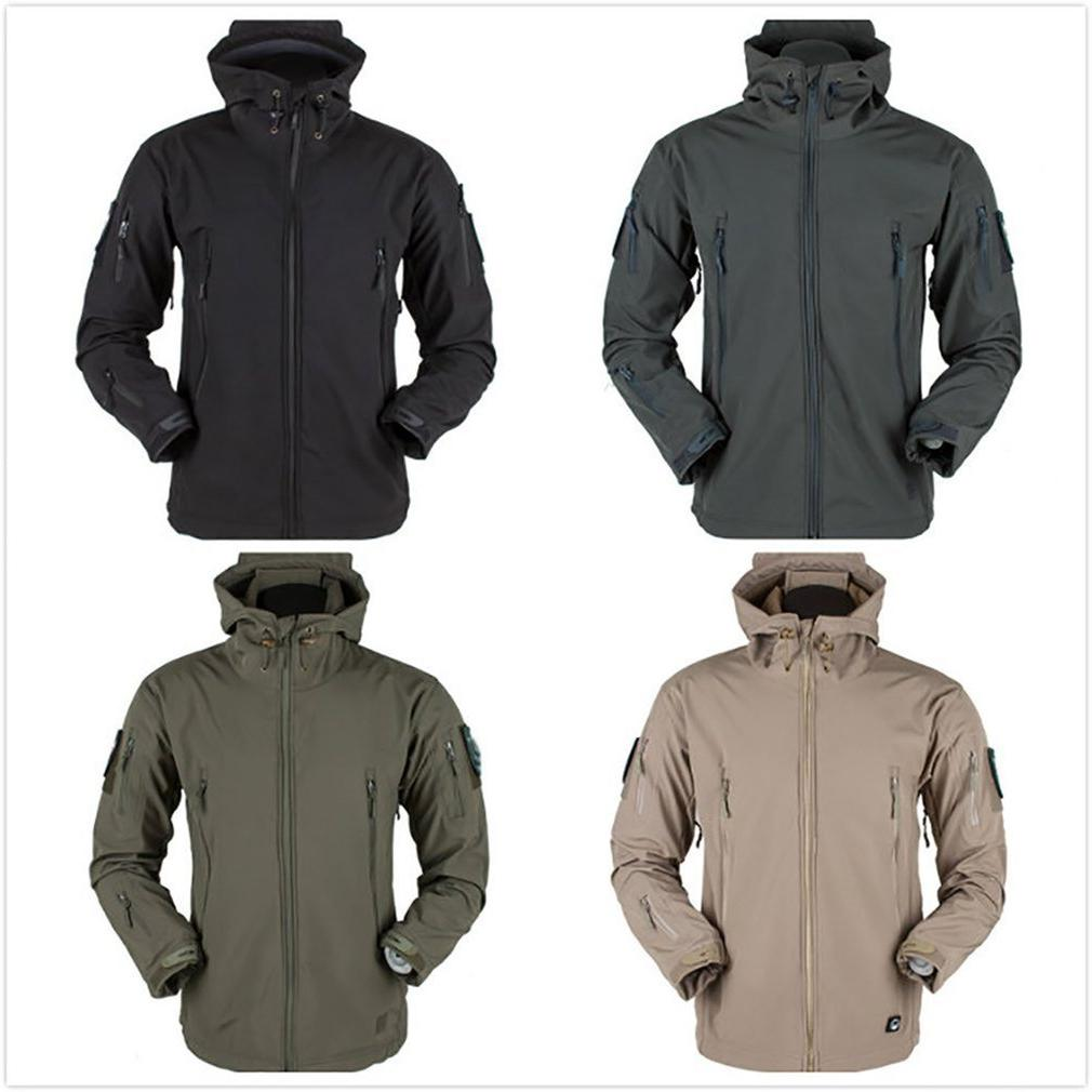 Outdoor Soft Shell <font><b>Men</b></font> And Women Waterproof Breathable Warm