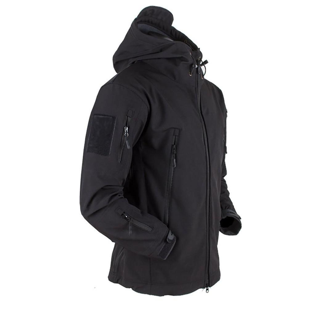Outdoor <font><b>Fleece</b></font> <font><b>Men</b></font> Waterproof Coat