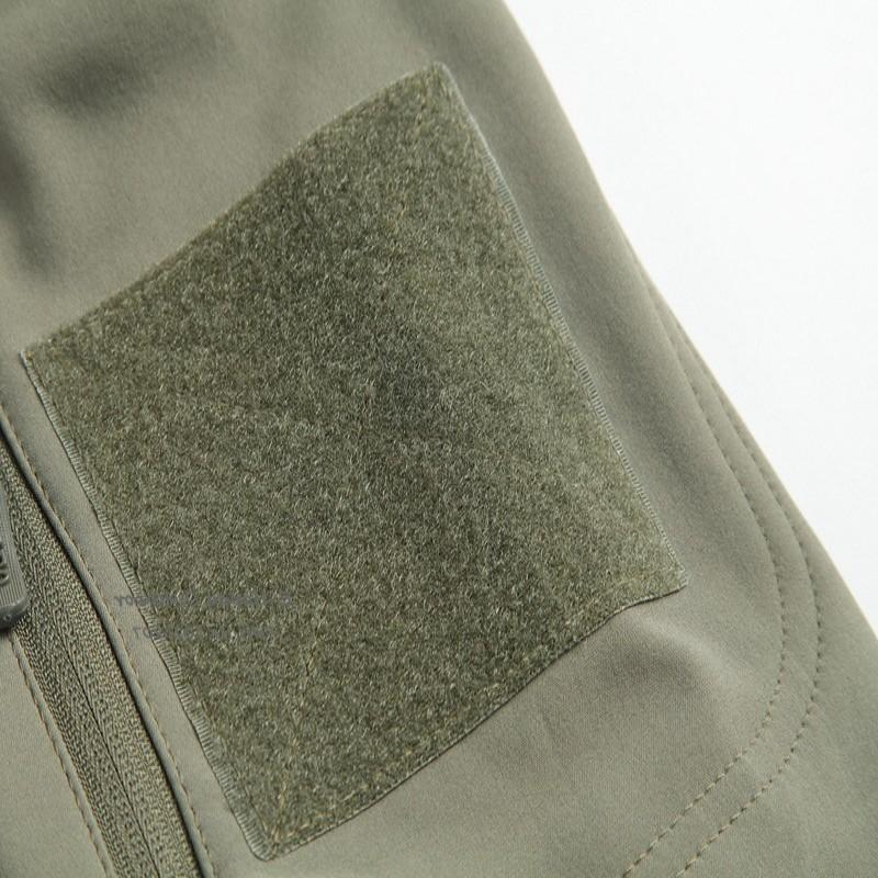 Outdoor Tactical Military Softshell <font><b>Fleece</b></font> Hunting and Warm Coat