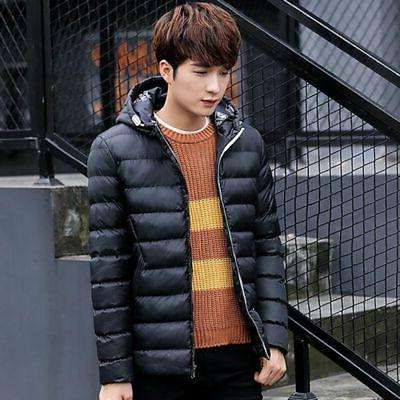Mens Warm Down Jacket Snow Coat