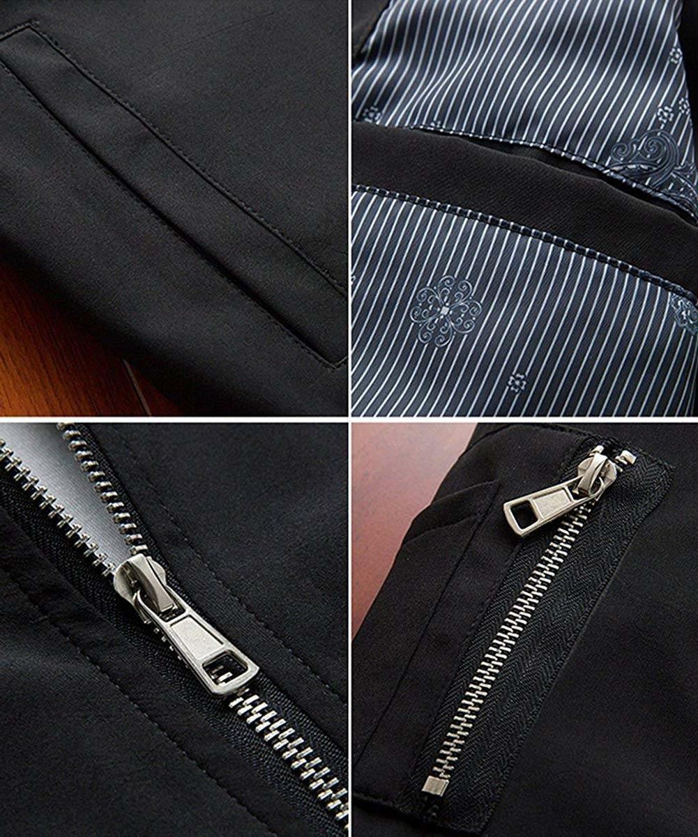 sandbank Men/'s Slim Fit Lightweight Softshell Flight Bomber Jacket Coat