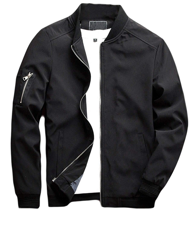 sandbank Lightweight Softshell Flight Jacket Coat