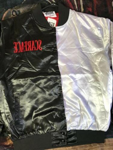 Scarface Fanimation Jacket Button Style Size