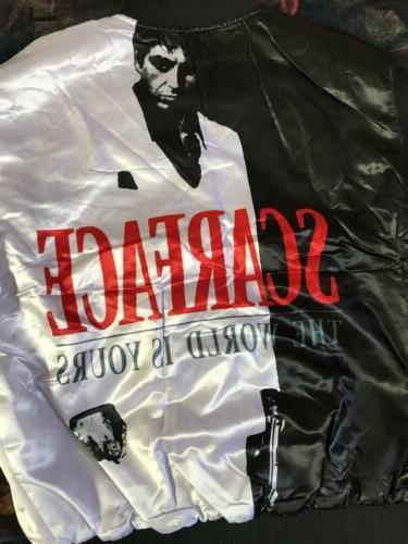 Scarface Jacket Style Size