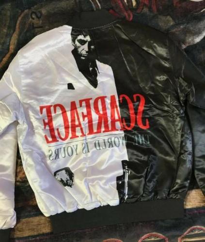 scarface fanimation mens jacket button up vintage