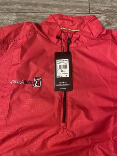 Adidas Small Climaproof Jacket Windbreaker Red