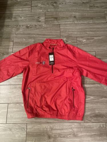 size small mens climaproof half zip jacket