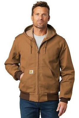 Carhartt Thermal Lined Duck Active Jacket Men's Coat CTTJ131 SHIPPING