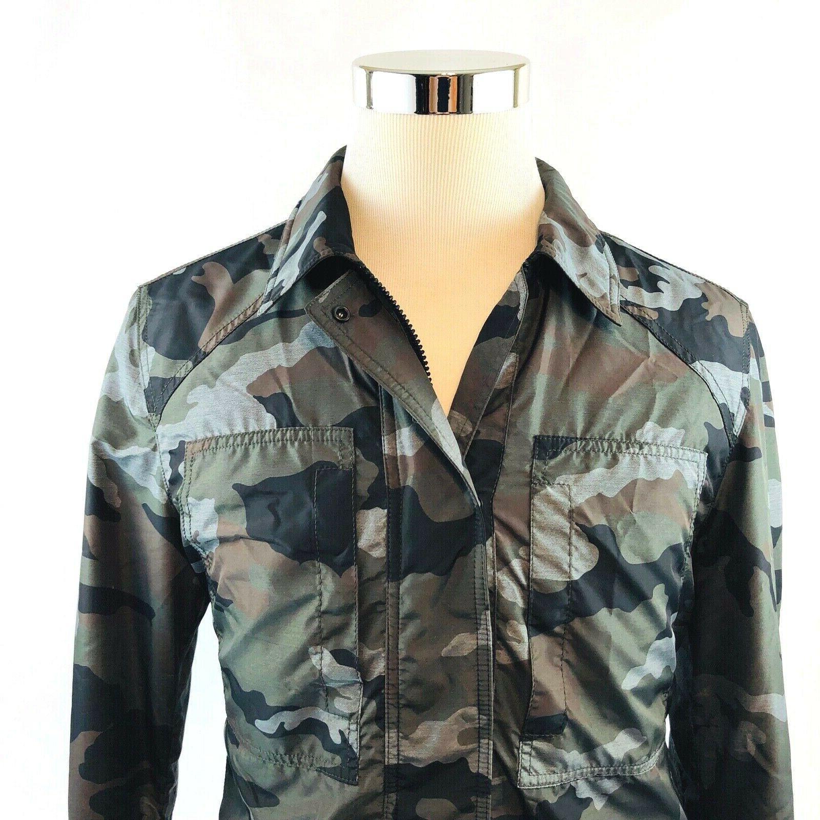 tom thorncroft camoflauge insulated lightweight jacket coat