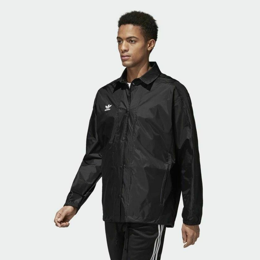 Adidas Originals Black fashion Lifestyle Jacket Small