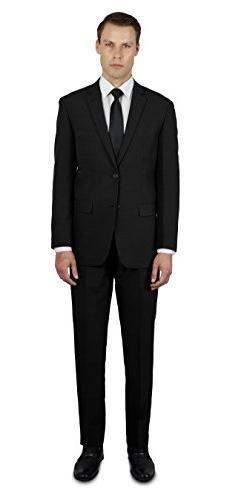 Alain Dupetit Men's Two Button Slim or Regular Fit Suit 48