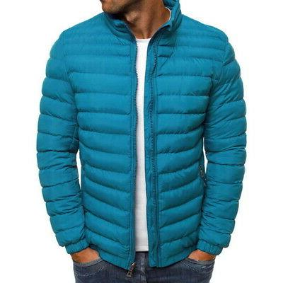 US Men Coat Jacket Hooded Insulated