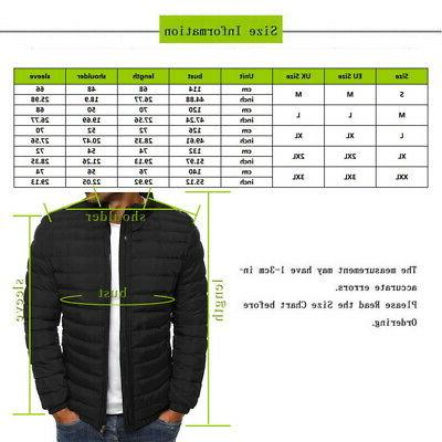 US Jacket Slim Fit Puffer Hooded Zipper Jacket