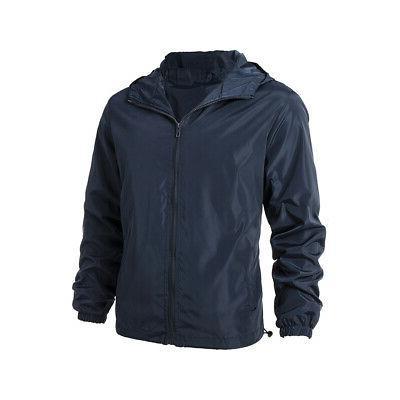 US Lightweight Windbreaker Outwear 4XL-7XL