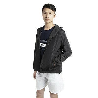 US Men Windbreaker Jacket Outwear 4XL-7XL