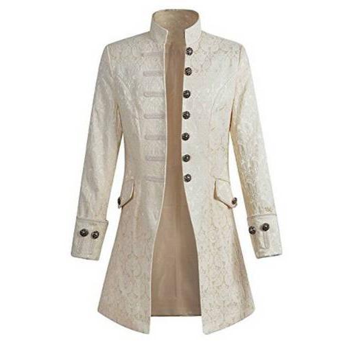 Vintage Mens Jacket Gothic Coat