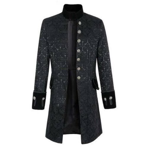 Jacket Gothic Victorian Frock Coat Cosplay