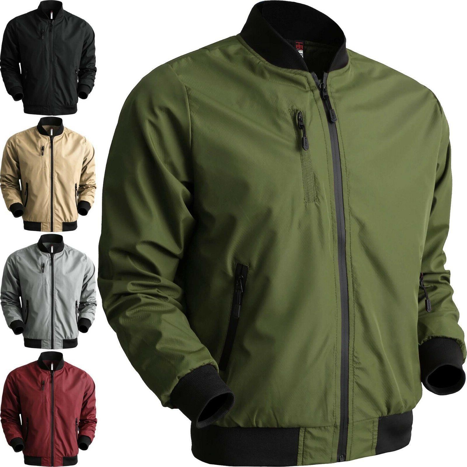 vw mens bomber windbreaker jacket tech lightweight
