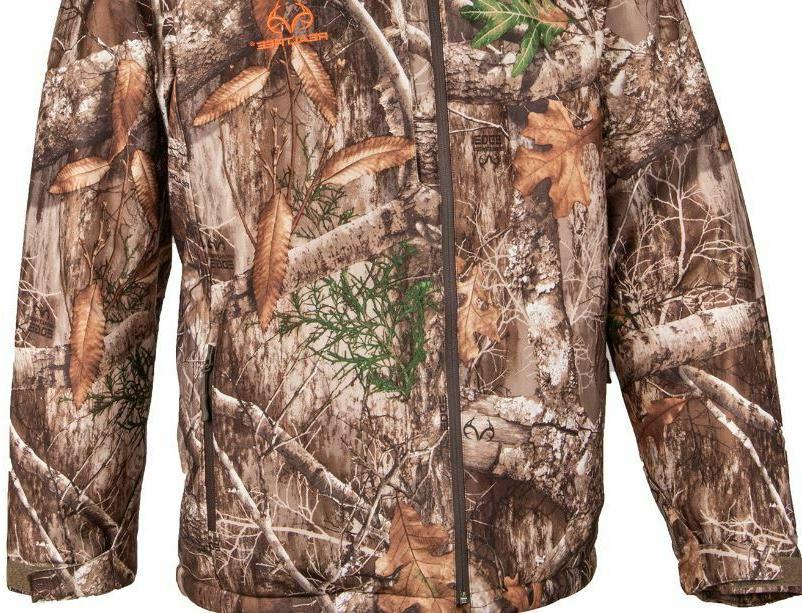 WATERPROOF XL M Insulated Parka Jacket Coat Camo