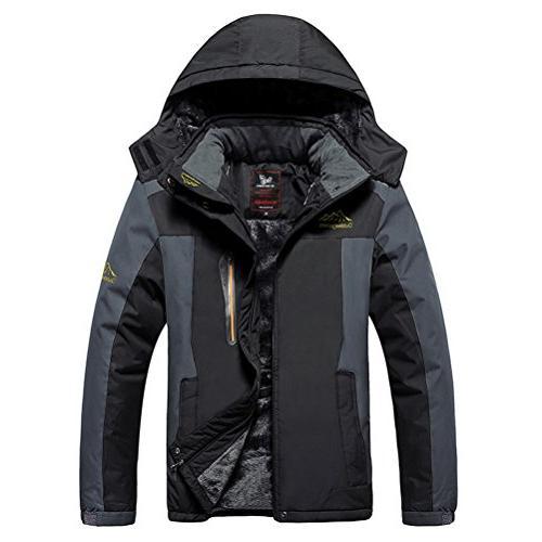 waterproof mountain ski jacket windproof