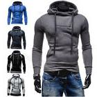 Winter Men Slim Hoodie Warm Pullover Sweatshirt Hooded Coat