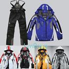 Men's Winter warm ski suit Jacket Waterproof Coat snowboard
