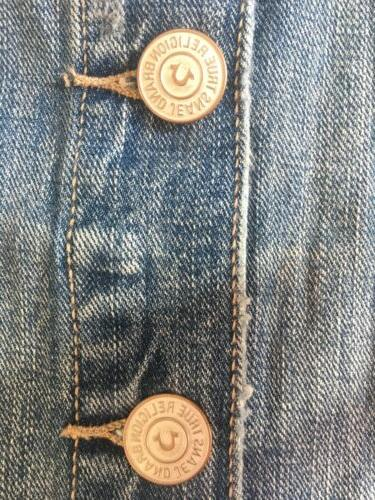 WOMEN'S SIZE MEDIUM RELIGION DENIM NEW WITH