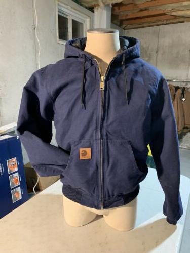 work jacket hoodie navy blue never worn