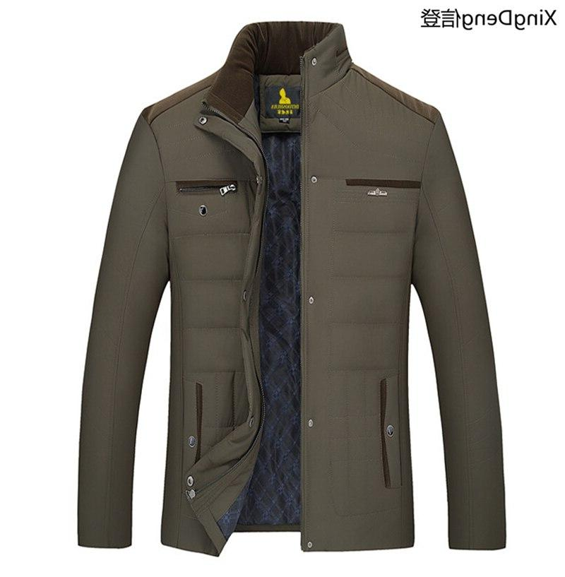 XingDeng <font><b>Men's</b></font> Winter fashion <font><b>Jackets</b></font> Warm Coat