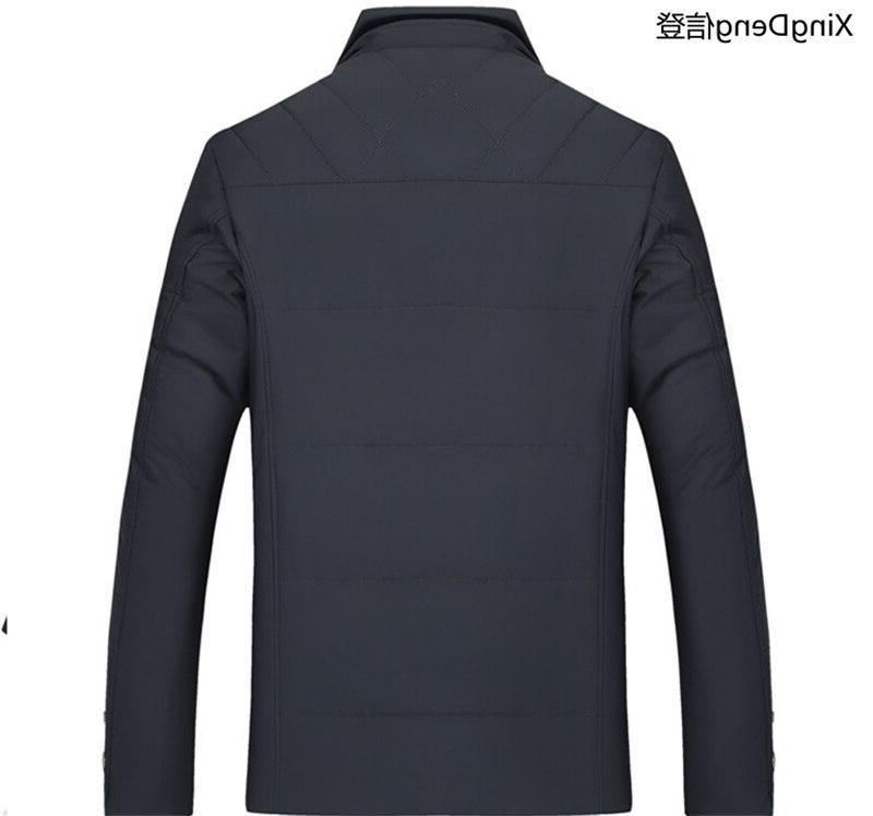 XingDeng <font><b>Men's</b></font> <font><b>Jackets</b></font> Outerwear Warm Collar Brand Coat Parkas Big