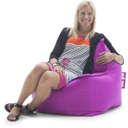 Stupendous Big Joe Zip It Square Bean Bag Chair Bralicious Painted Fabric Chair Ideas Braliciousco