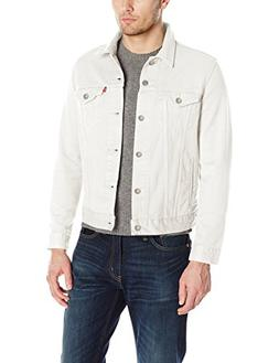 Levi's Men's The Trucker Jacket, Steel Hour, S