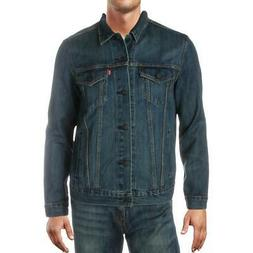 Levi Strauss & Co. Mens Trucker Jean Fall Denim Jacket Coat