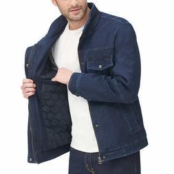 Levi's Men's Stretch Twill Jacket ,Blue/Navy, Size: Larg