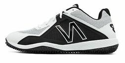 New Balance Low-Cut 4040V4 Turf Baseball Cleat Mens Shoes Wh