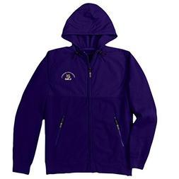 LSU Tigers Denali Jacket Purple Left Chest Logo - S