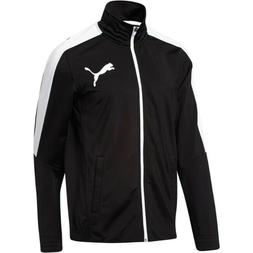 Puma MEN CONTRAST TRACK JACKET PUMA BLACK/WHITE 838605-71