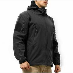 Men's Army Military Special Ops Softshell Tactical Jacket S-