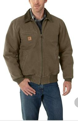 Carhartt Men's Bankston Jacket. Large. Brown.