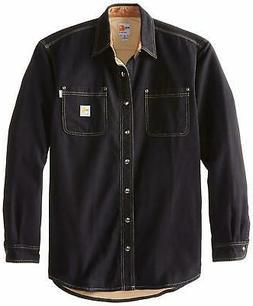 Carhartt Men's Big & Tall Flame Resistant Canvas Shirt J