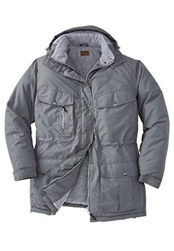 men s big and tall expedition parka
