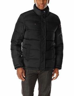 Tommy Hilfiger Men's Classic Puffer Jacket, Black, - Choose
