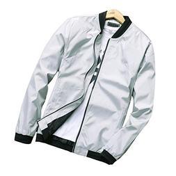 Hzcx Fashion Men's Classic Soild Color Thin Light Weight Fli