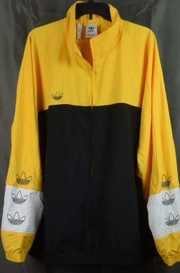 adidas Men's Color Blocked Warm Up Track Soccer Jacket. 2XL