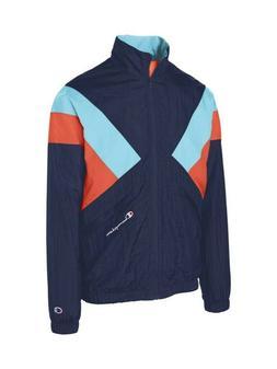 Champion LIFE Men's Colorblock Nylon Warm-Up Track Jacket  B
