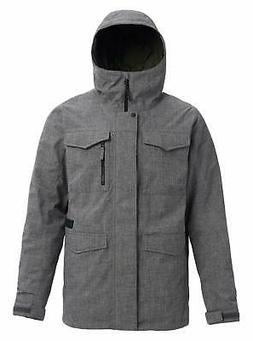 Burton Men's Covert Shell Jacket, Bog Heather, Sma - Choose