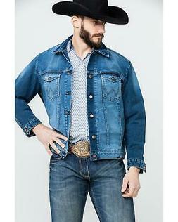 Wrangler Men's Cowboy Cut Button Front Denim Jacket  - 74145