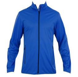 Kjus Men's Dorian Jacket Windbreaker Size 50 Alpine Blue Med