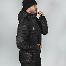 Ravean Men's Down Heated Jacket | Lightweight Water, Black,