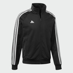 Adidas Men's Essentials 3 Stripe Track Tricot Jacket Navy, B